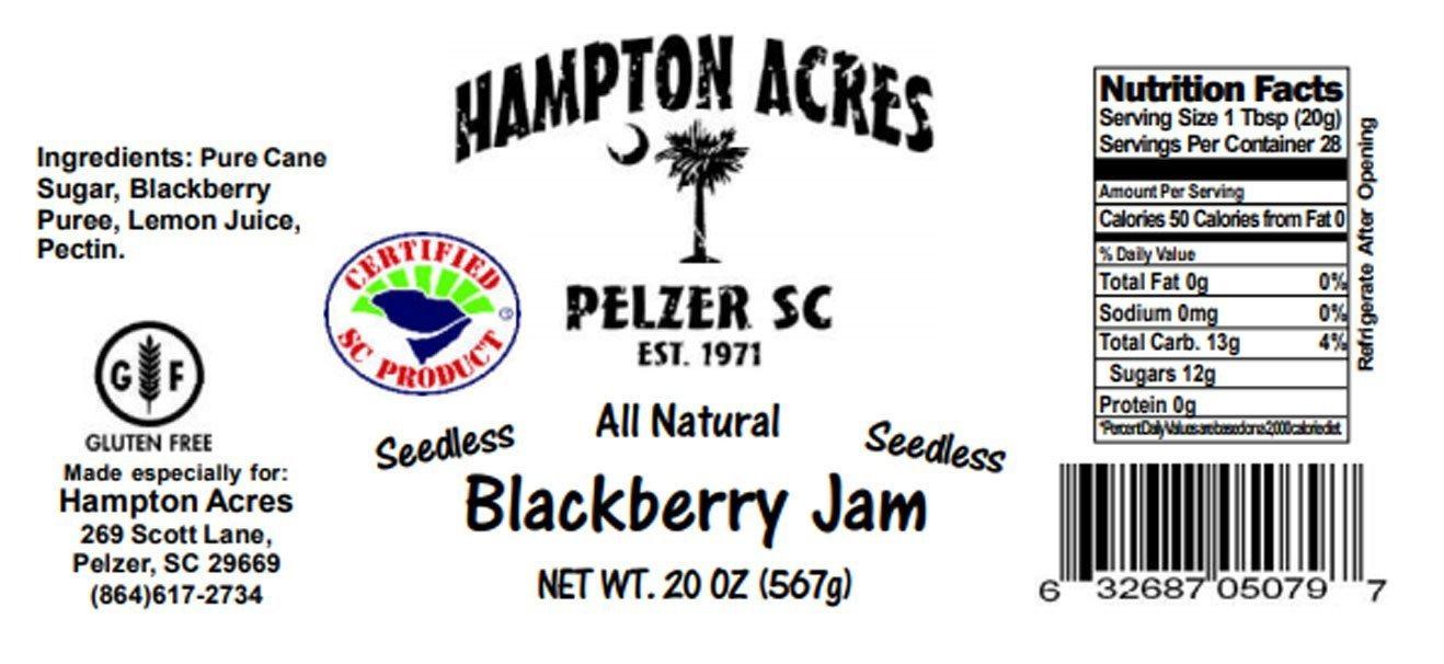 All Natural Blackberry Jam